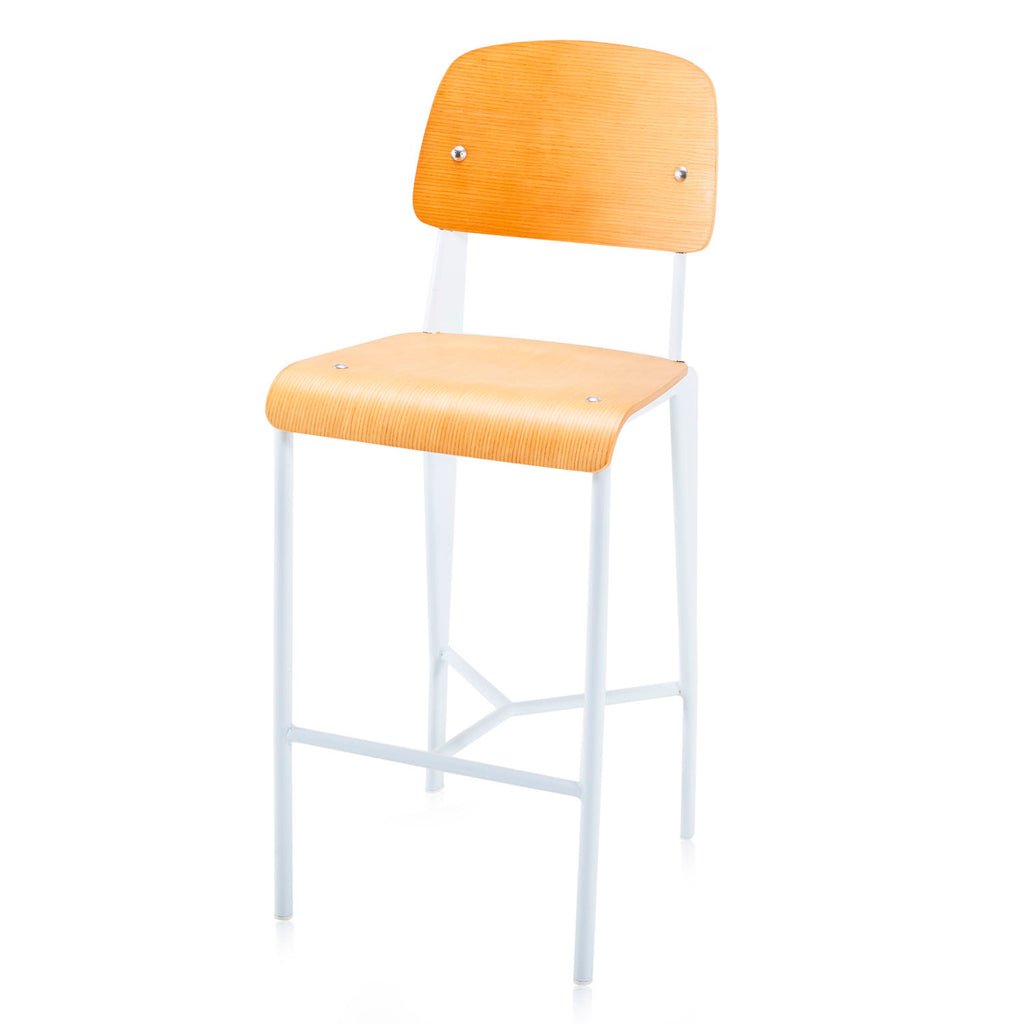 Prouve Bar Stool White