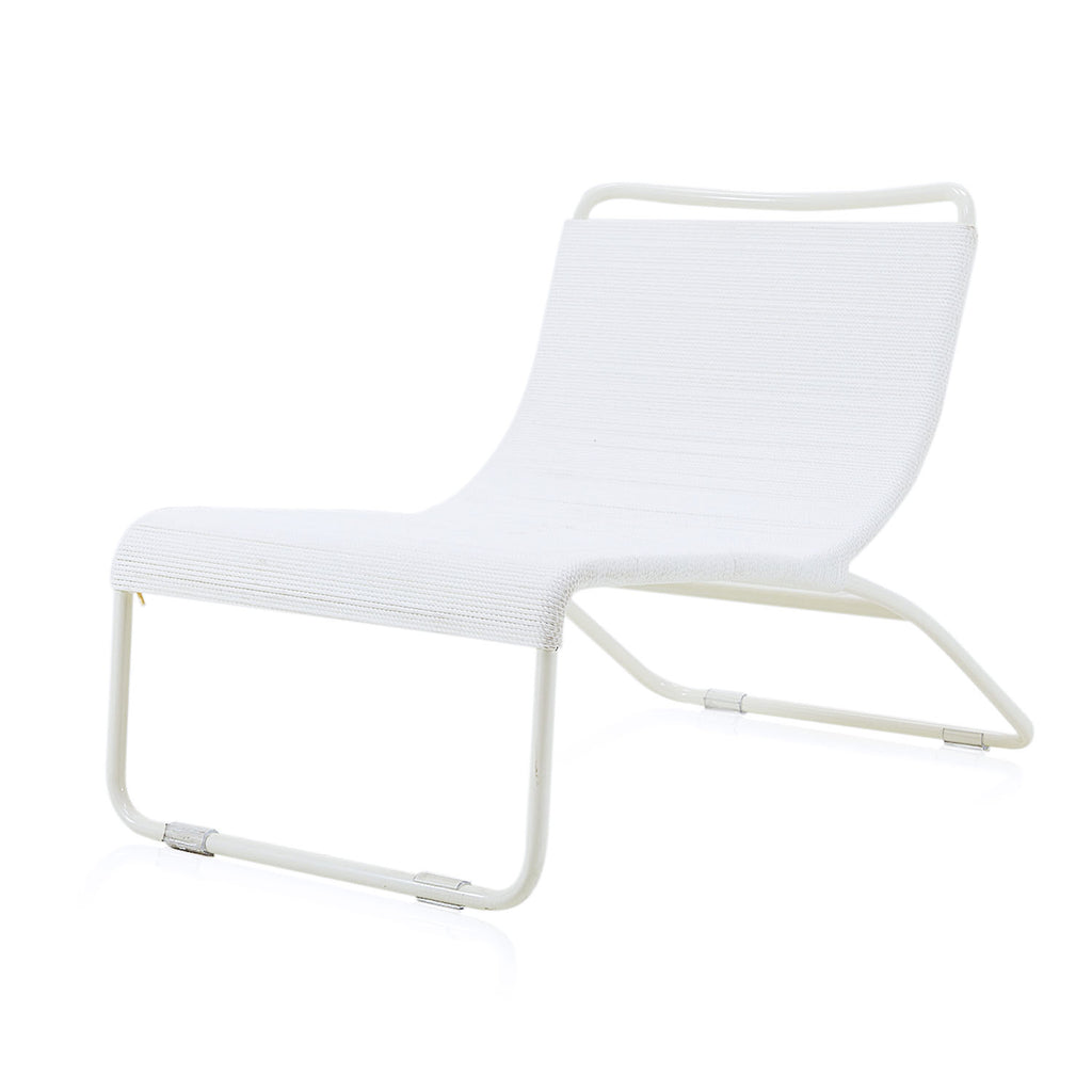 Case Study #22 Lounge Chair with White Frame