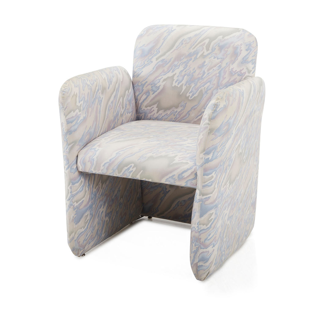1980s Chiclet Armchair