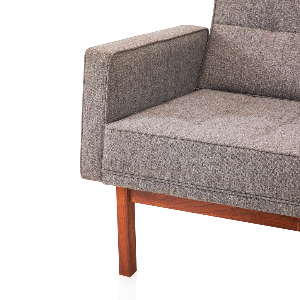 Ash Grey Wood Rail Couch