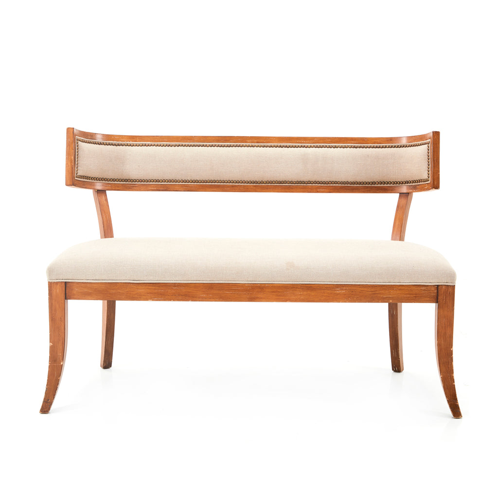 Neoclassical Contemporary Settee