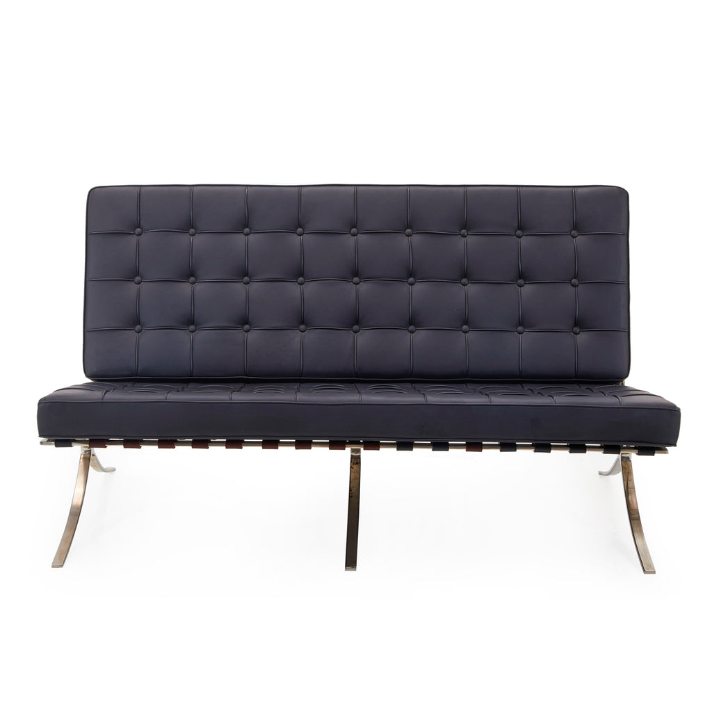 Barcelona Love Seat - Black