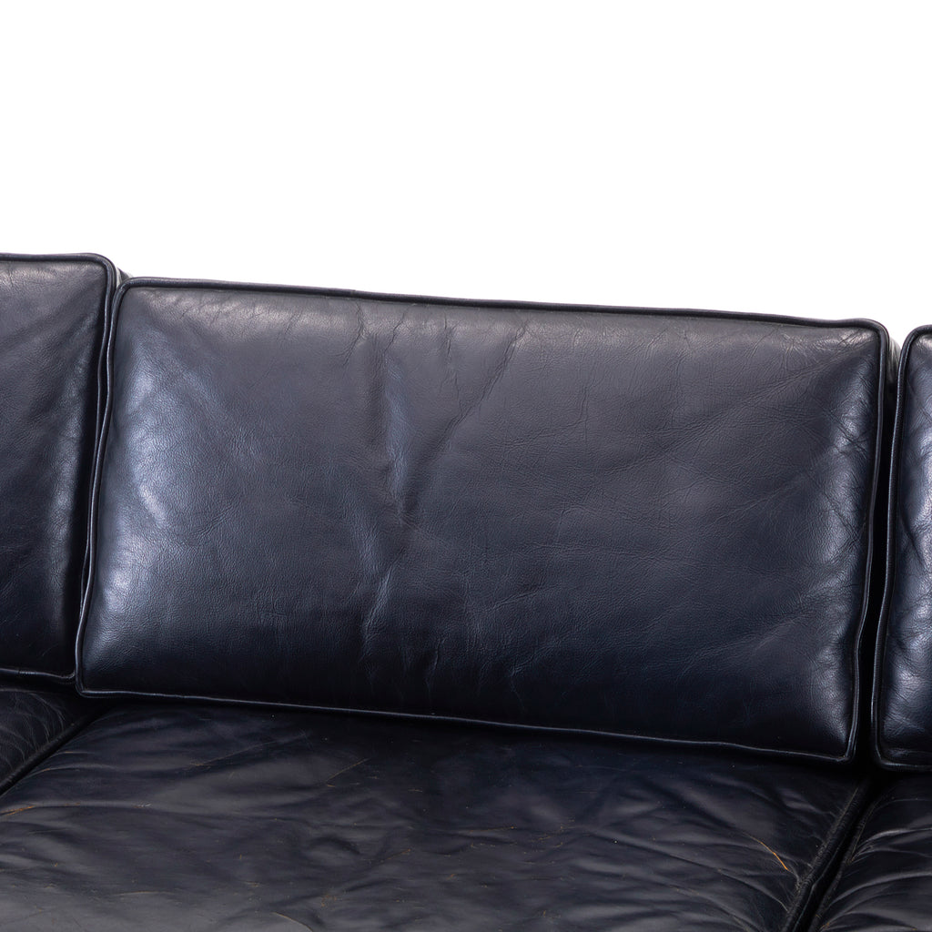 Black Leather Sofa