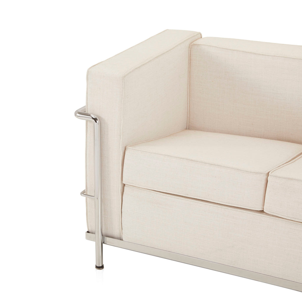 Le Corbusier Petit Confort Loveseat - White