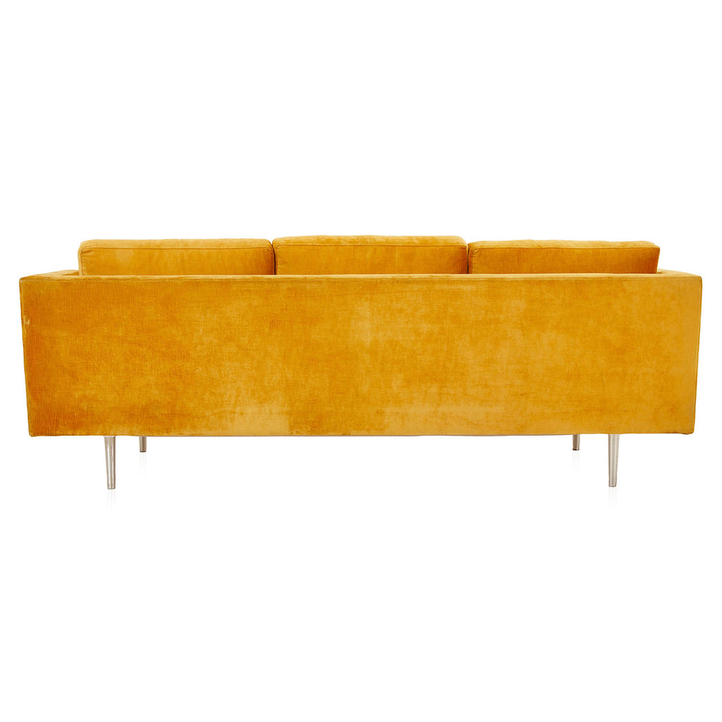 Mustard Yellow Velvet 810 Sofa