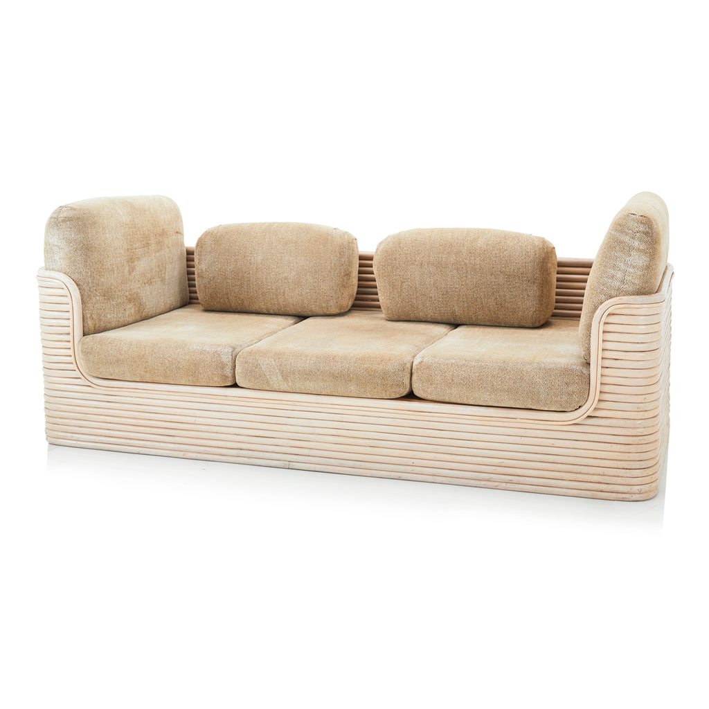 Beige Bentwood Couch