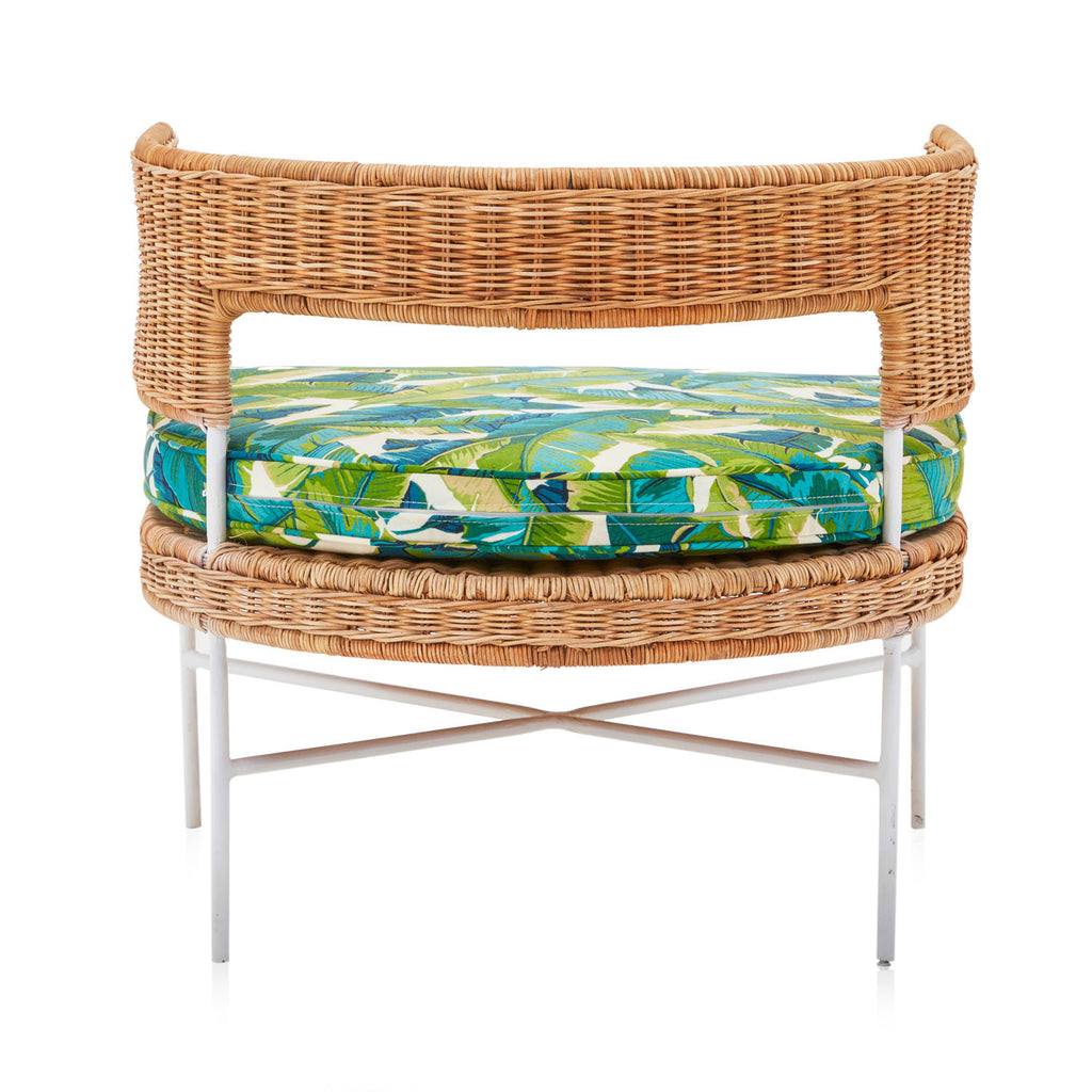 Wicker Tropical Arm Chair