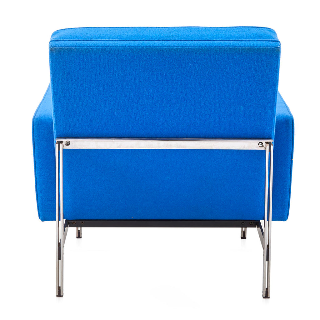 Modernica Blue Split Rail Arm Chair