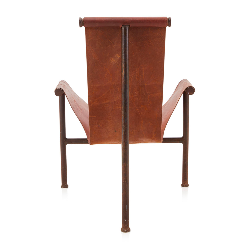 Leather Sling T Chair