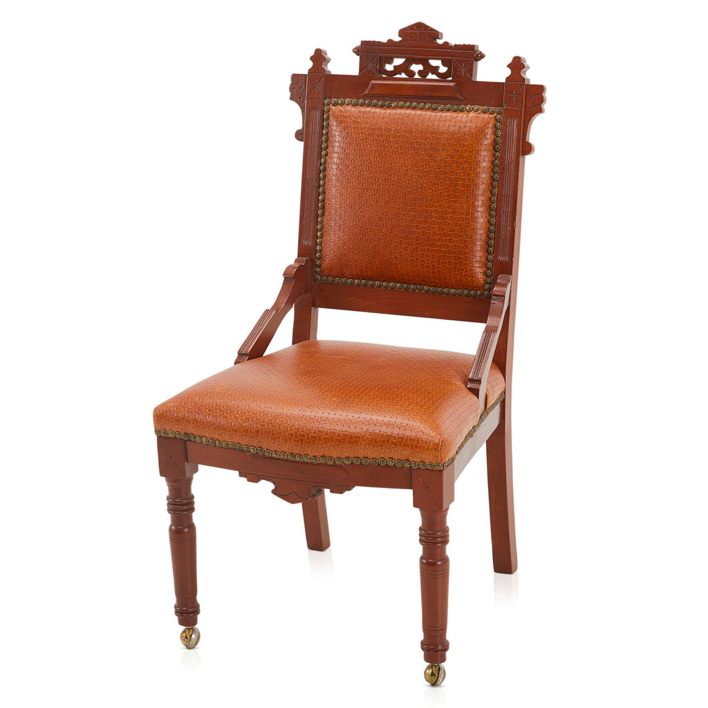 Ornamental Leather Chair