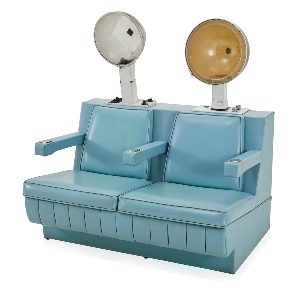 Light Blue Dryer Chair Unit
