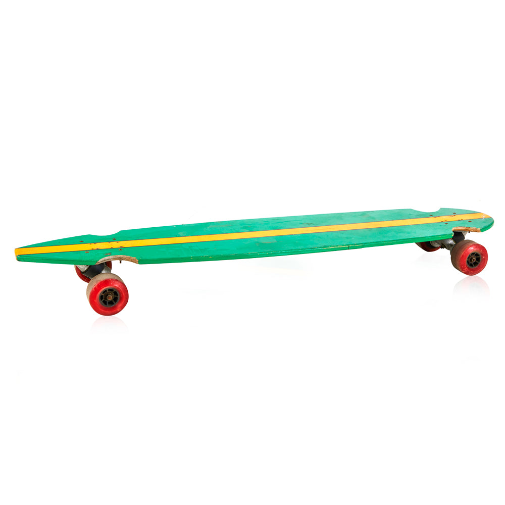 Green Striped Long Board