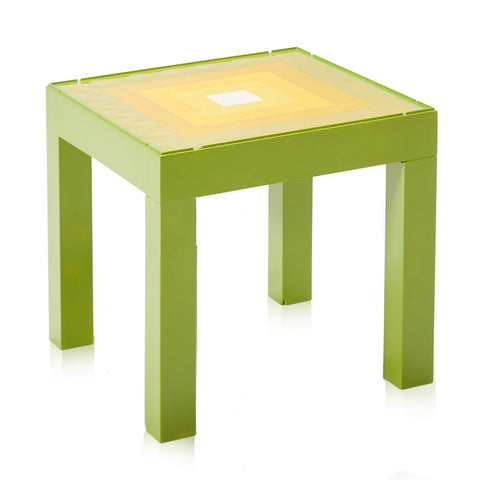 Green Yellow Side Table