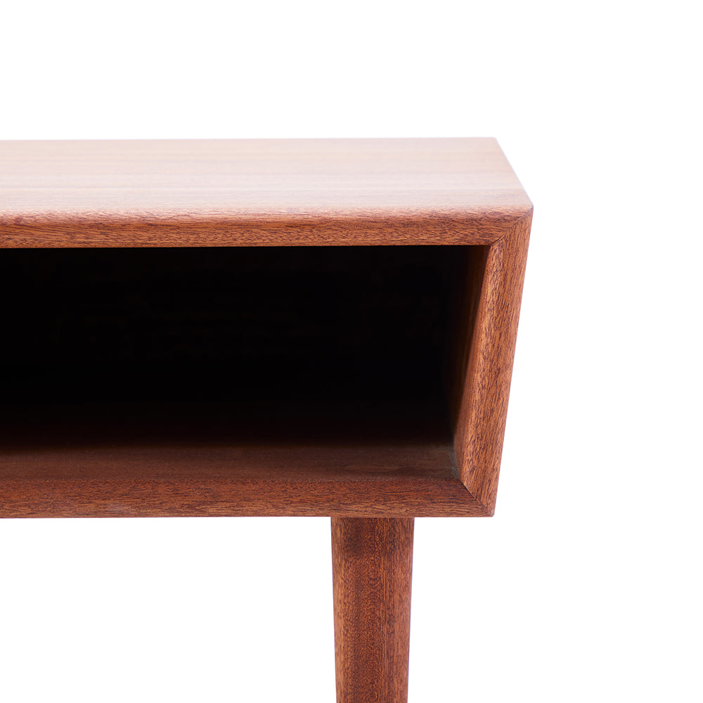 Case Study End Table - Mahogany