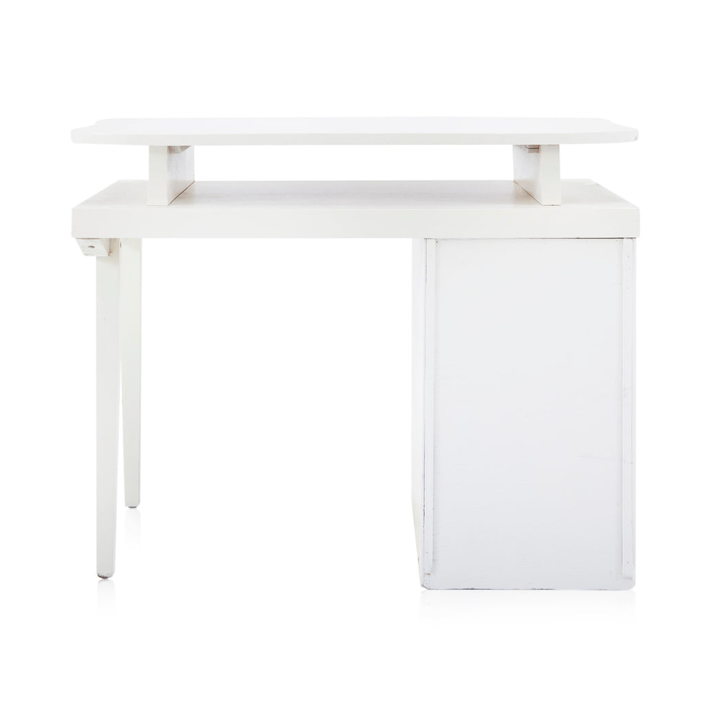 White Short Kid's Desk