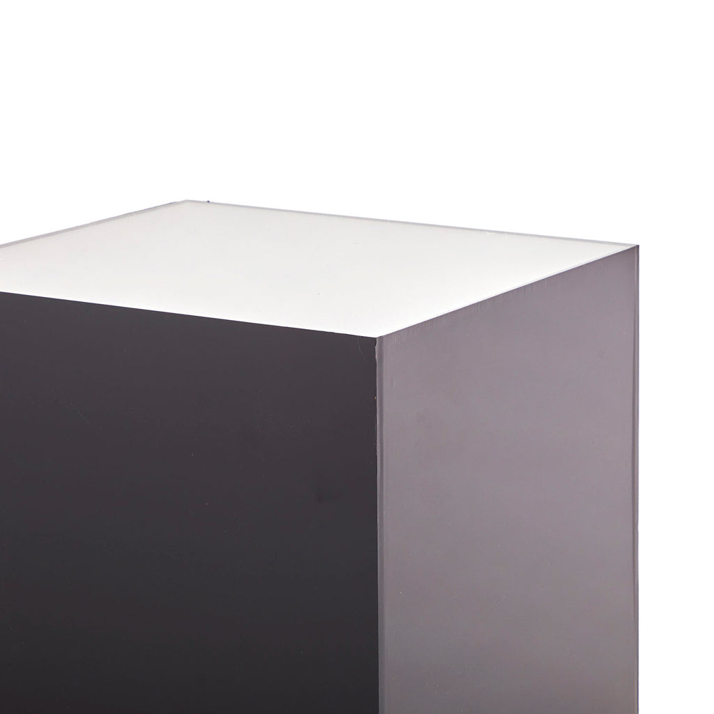 Large Grey Gradient Pedestal