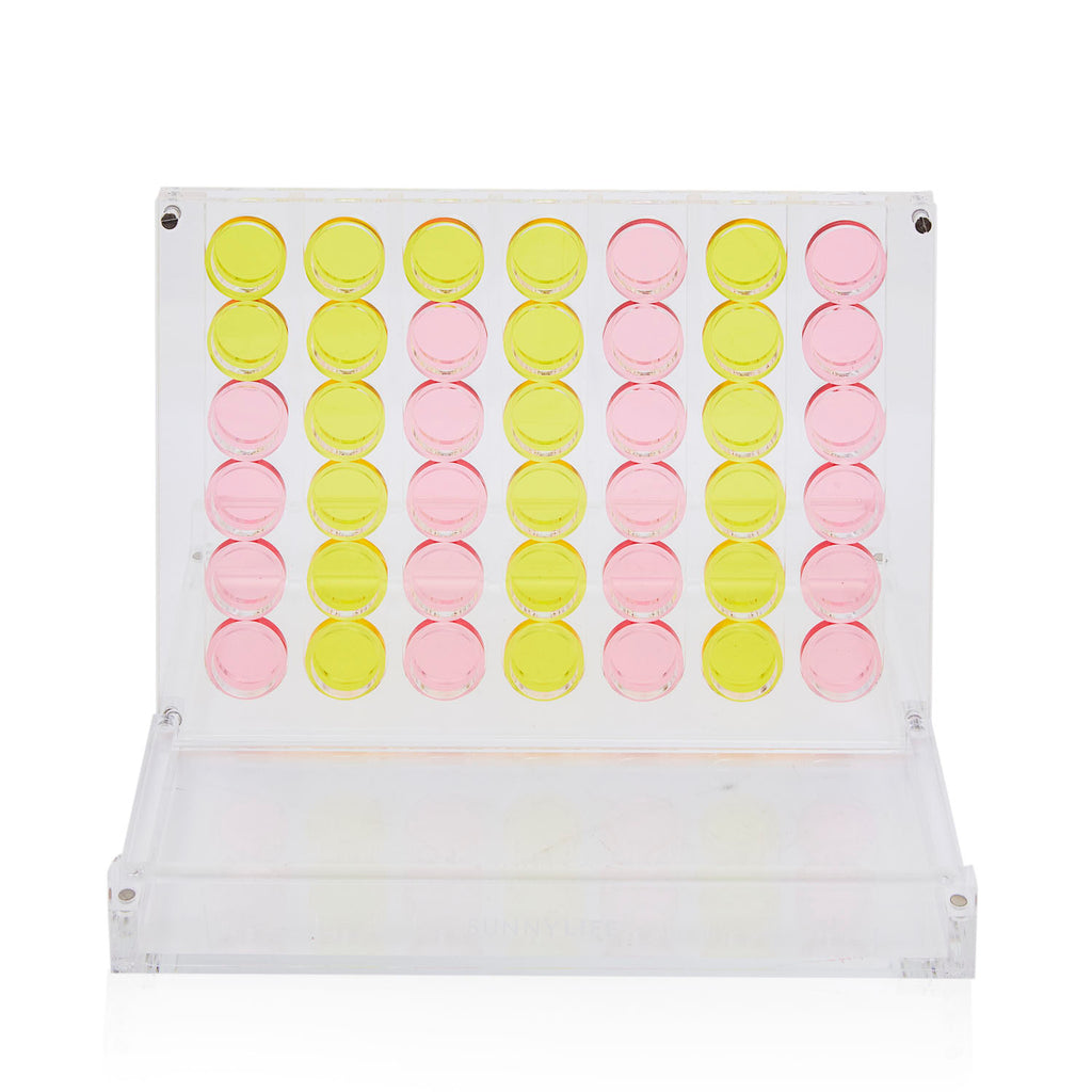 Acrylic Connect Four Set