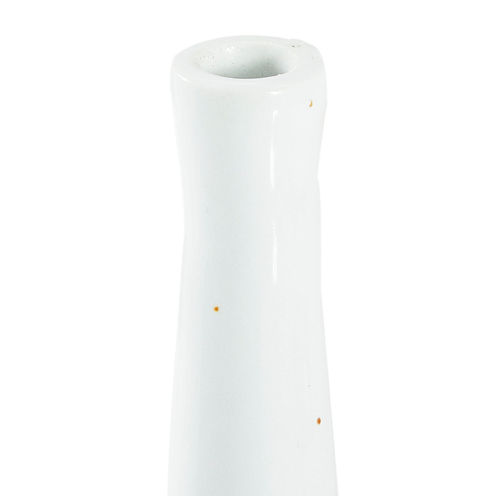 Slim Neck Vase - White