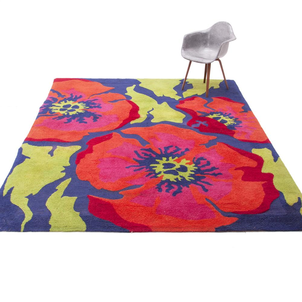 Blooming Flower Rug