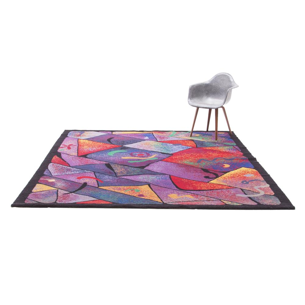 1980's New Wave Area Rug