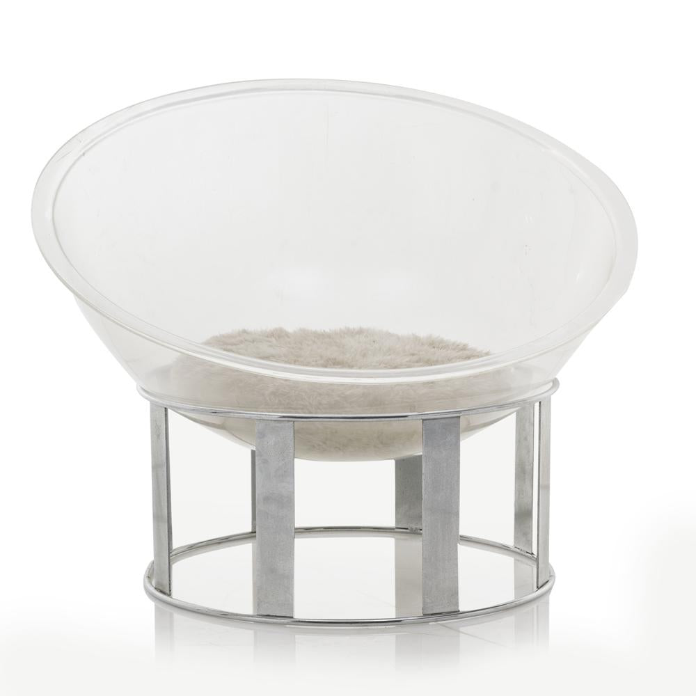 Mod Lucite Bowl Chair