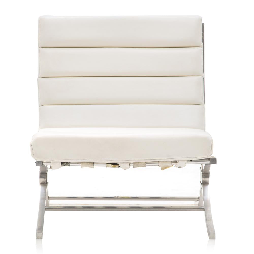 White Segmented Chair