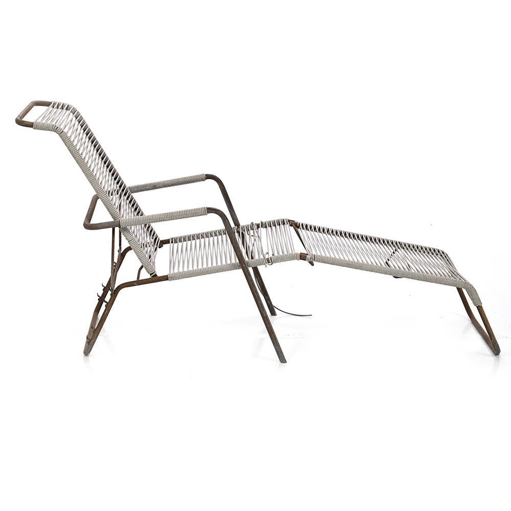 Cord Outdoor Chaise Lounge
