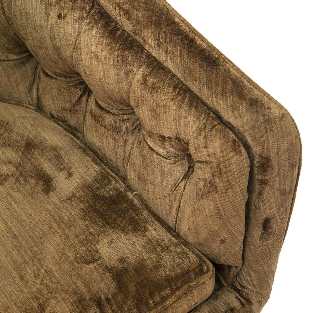 Brown Velvet Couch