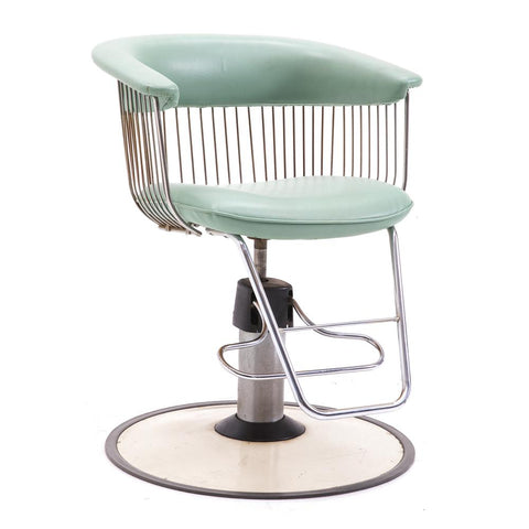 Mint Wire Salon Chair