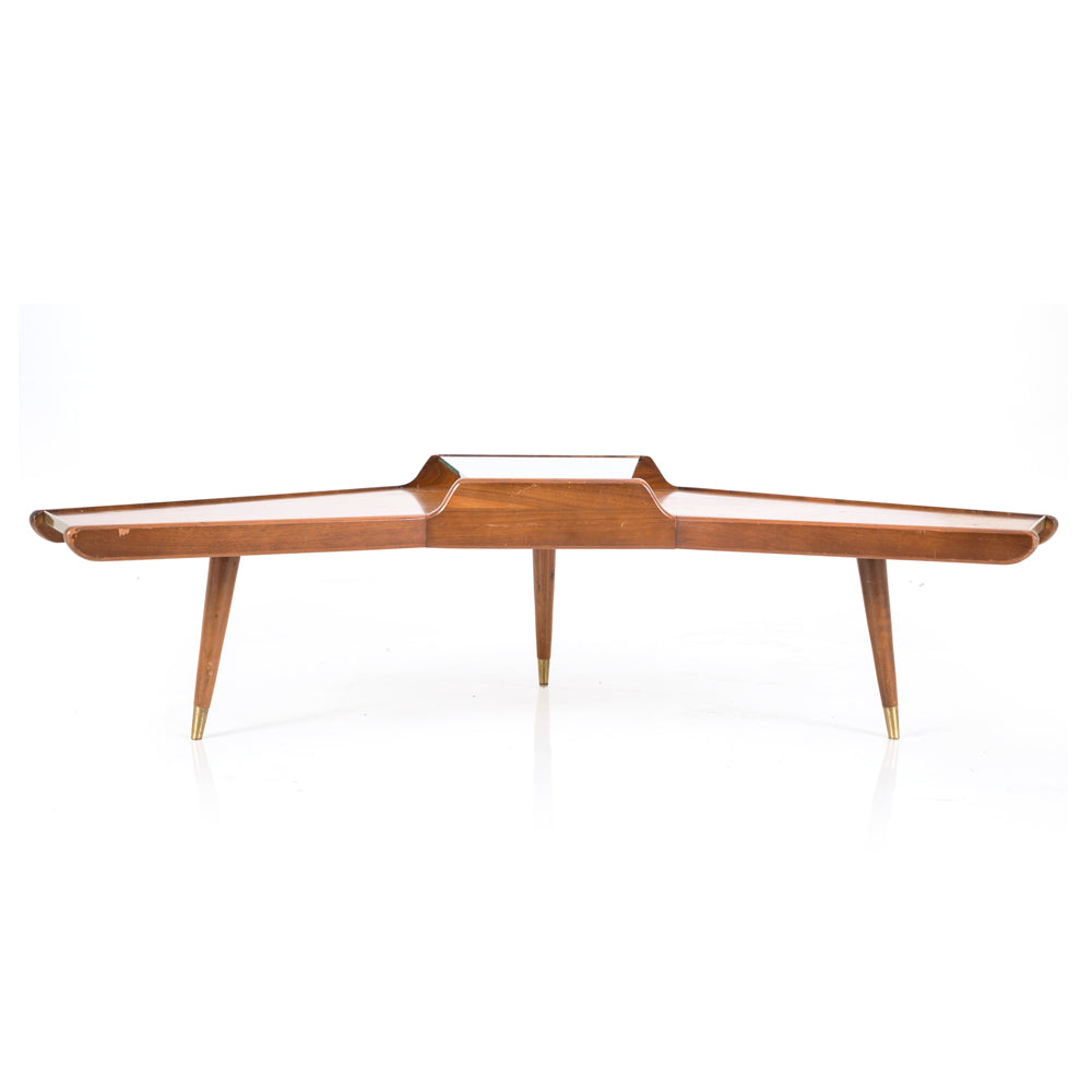 - Boomerang Shaped Coffee Table - Modernica Props