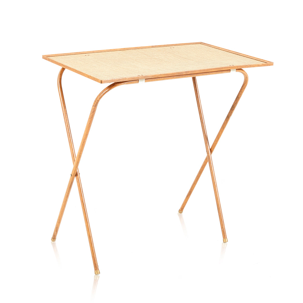 Wicker Rectangle Tray Tables