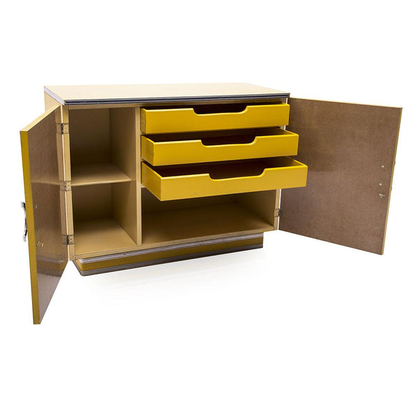 Yellow Formica Cabinet Modernica Props