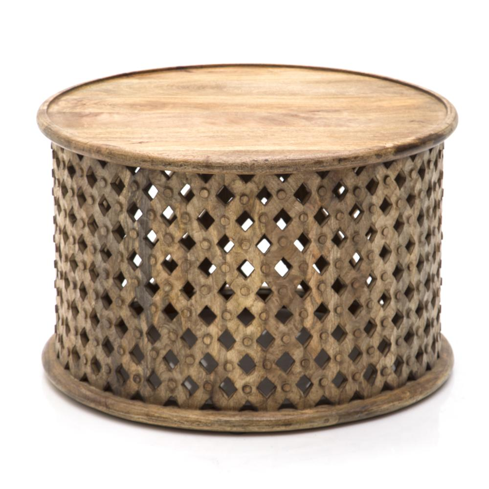 Round Tribal Coffee Table Modernica Props