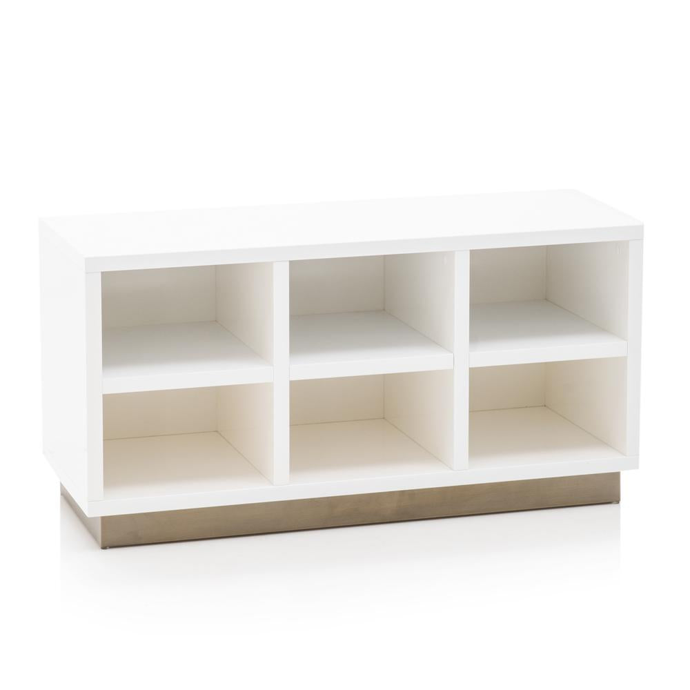 Superieur White Cubby Cabinet ...