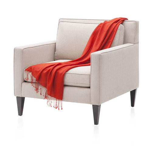 Bright Red Throw
