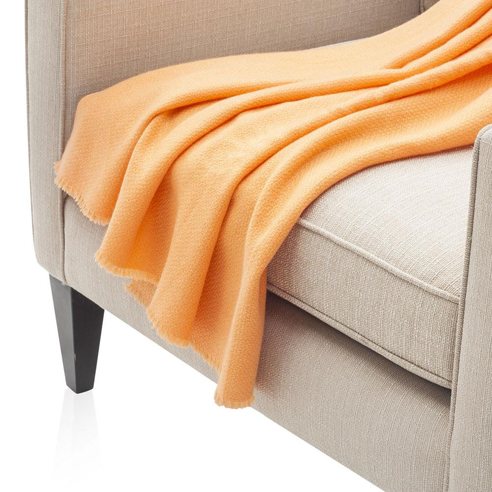 Baby Orange Throw