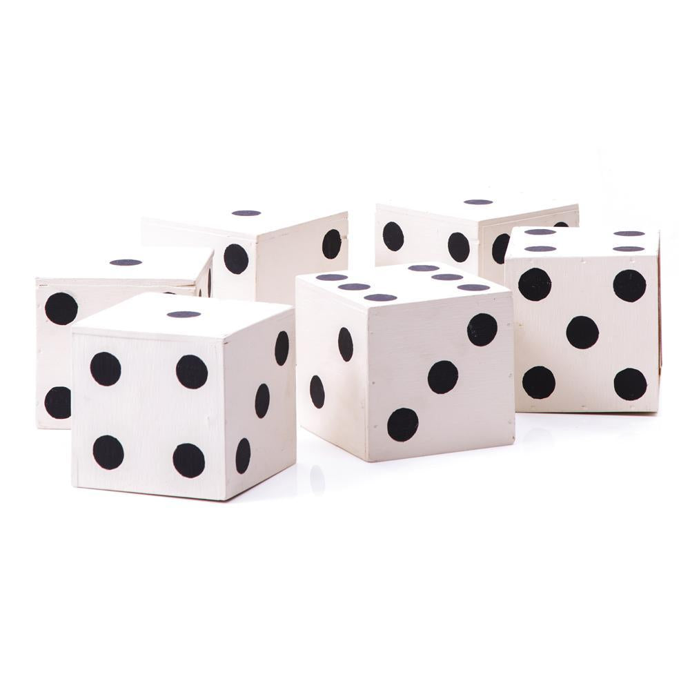 White BFA Yard Dice Game