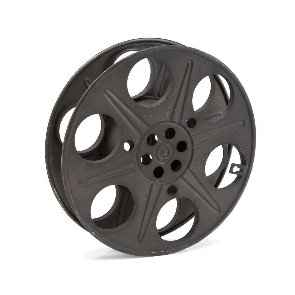 Black Metal Projector Reel