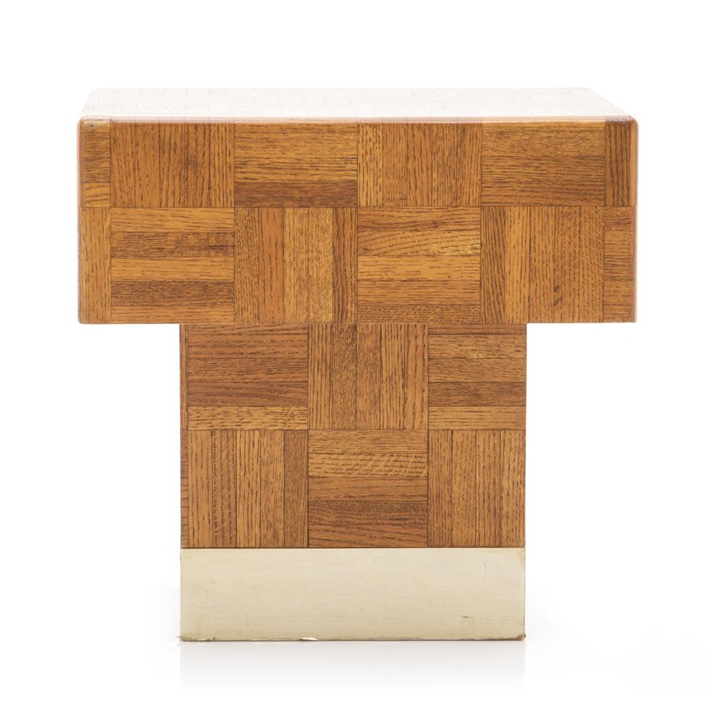 Parquet Side Table