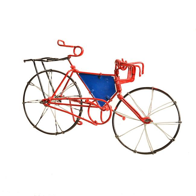 Red BFA Wire Bicycle