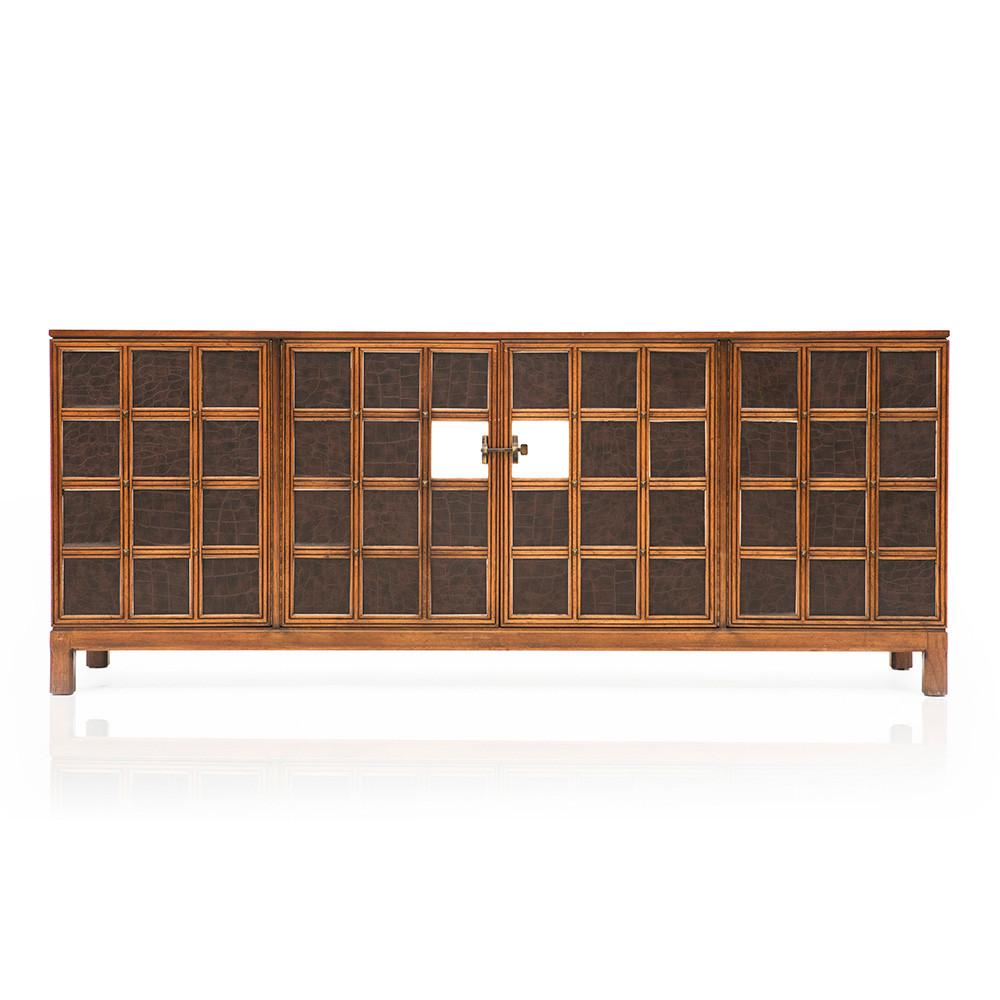 Checkered Front Credenza