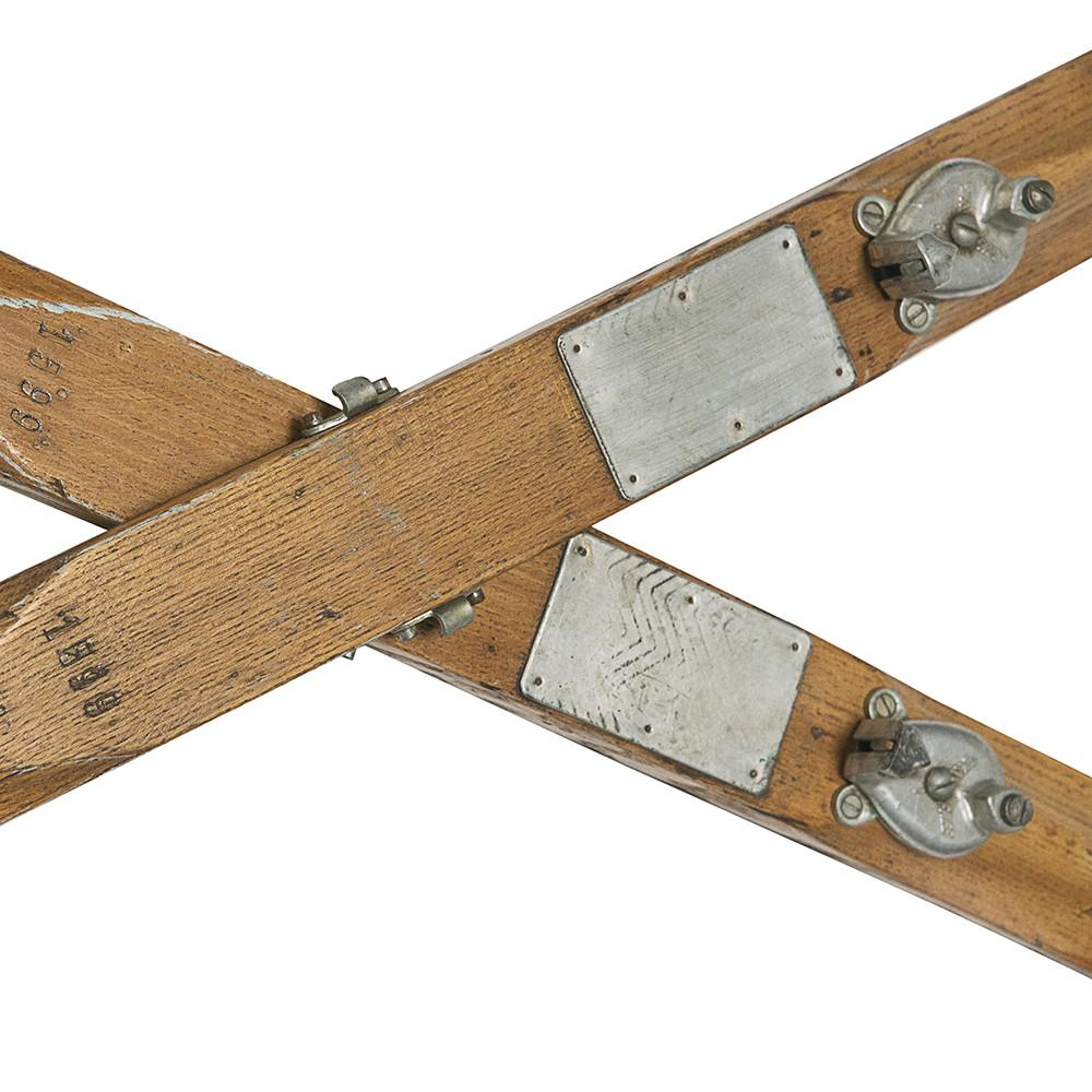 Pair of Vintage Skis