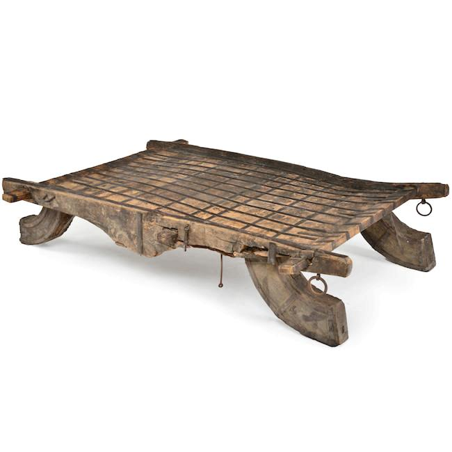 Ancient Plow Coffee Table