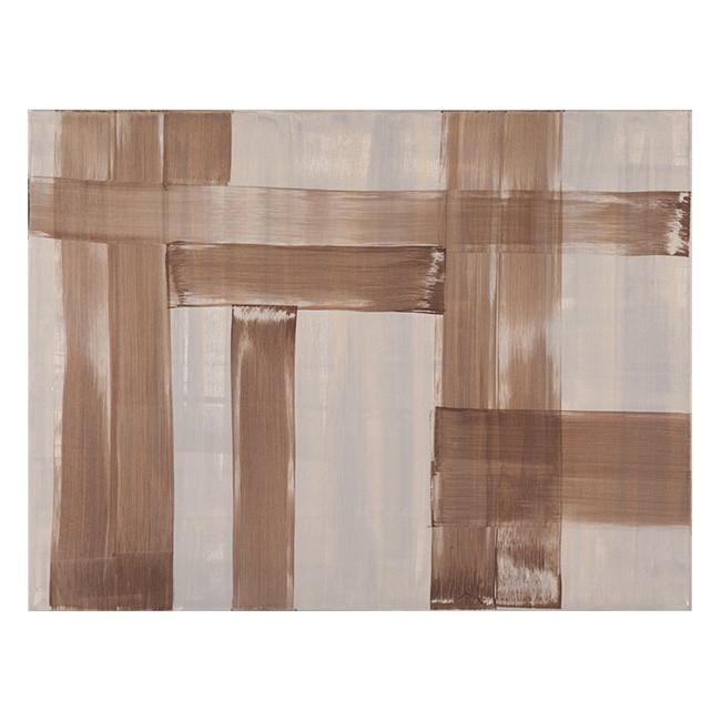 "100-398 Brown Gray Abstract (40"" x 30"")"