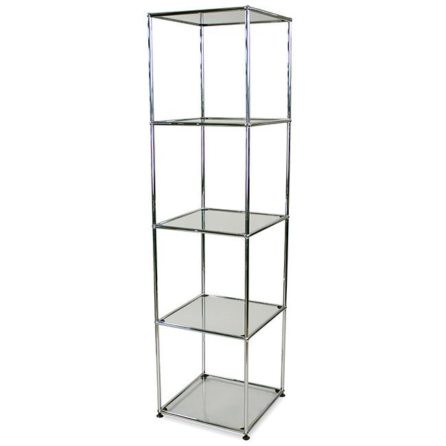 Haller 410 Shelf Unit - Chrome