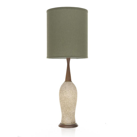 Army Green Shaded Lamp