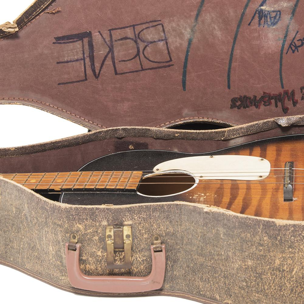 Rustic Guitar and Case