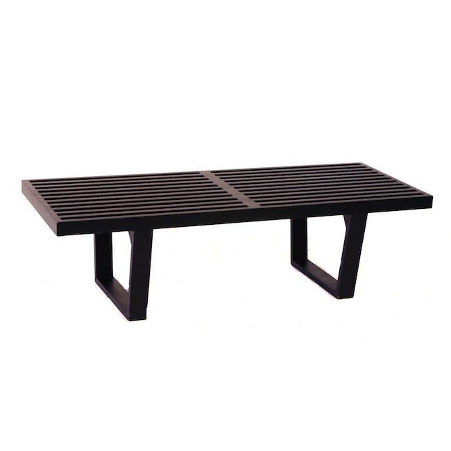 Sensational Nelson Platform Bench Black Gmtry Best Dining Table And Chair Ideas Images Gmtryco