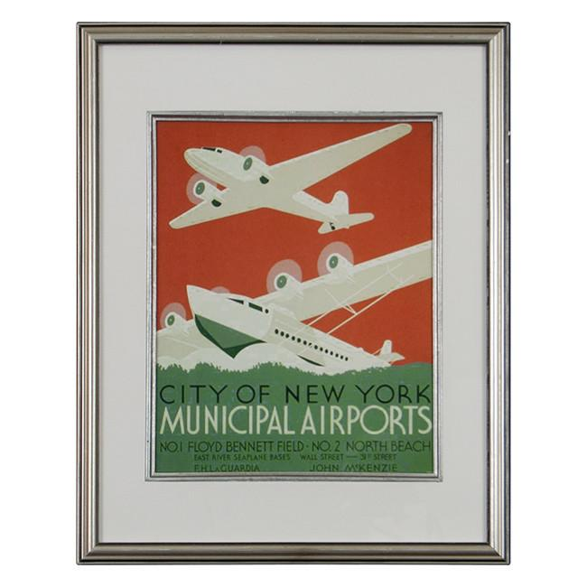 "BFA 100-247 WPA Airplanes (12"" x 15"")"