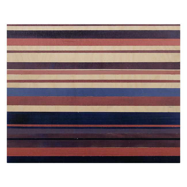 "100-169 Purple Earth Stripes (20"" x 16"")"